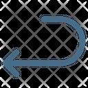Previous Arrow Back Icon