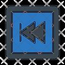 Previous Backward Player Icon