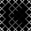 Previous Back Arrow Icon