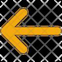 Interface Arrow Left Icon