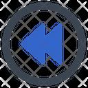 Arrow Previous Back Icon