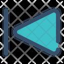 Previous Step Backward Icon