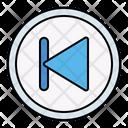 Previous Backward Button Icon