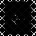 Arrow Document File Icon