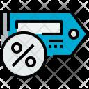 Price Tag Percent Icon