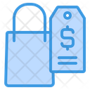 Price Tag Shopping Shopping Bag Icon