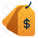Pricetag Dollar Shopping Icon