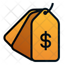Pricetag Dollar Shopping Icon