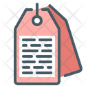 Tags Label Icon