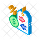 Cash Interest Price Icon