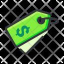 Dollar Price Retail Icon