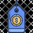 Price Tag Money Tag Money Label Icon