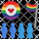 Pride Lgbtq Parade Icon