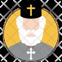Priest Clergyman Pastor Icon