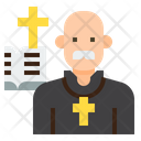 Ipriest Priest Clergyman Icon