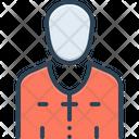 Priest Adorer Worshipper Icon