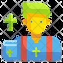 Priest Religion Culture Icon