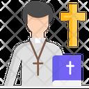 Priest Pastor Church Icon