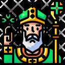 Priest Catholic Christian Icon