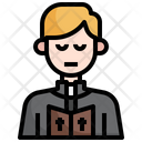 Priest Religion Man Icon