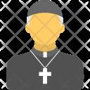 Priest Pastor Christian Icon