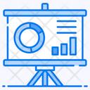 Primary Data Circle Chart Growth Analysis Icon