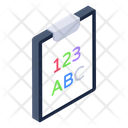 Primary Lesson Test Education Icon