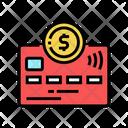 Debit Card Debit Electronic Icon