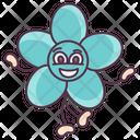 Primrose Flower Primrose Expression Floral Character Icon