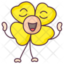 Primrose Flower Calendula Expression Floral Character Icon