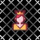 Prince Woman Female Icon
