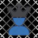 Prince Crown Avatar Icon