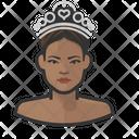 Princess Woman Tiara Icon