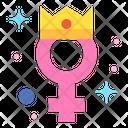 Princess Girl Queen Icon