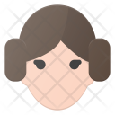 Princess Leia Star Icon