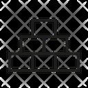 Principle Foundation Bricks Icon