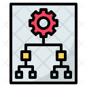 Principle Organization Chart Icon