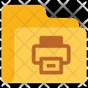 Print folder Icon