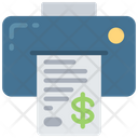 Print Invoice Icon