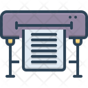 Print Supplies Newspaper Magazine Icon