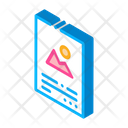 Printed Color Paper Icon