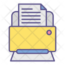 Printer Office Documents Icon
