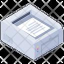 Output Device Hardware Printer Icon