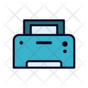 Printer Device Electric Appliances Icon