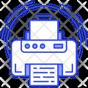 Printer Inkjet Printer Output Device Icon