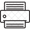 Copy Machine Facsimile Facsimile Machine Icon