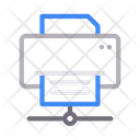 Printer Network Connection Icon