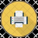 Printer Fax Print Icon
