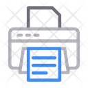 Printer Photocopy Print Icon