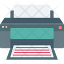 Device Photocopier Print Icon